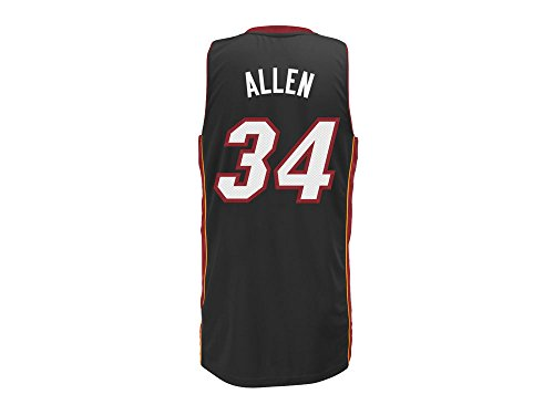 NBA adidas Ray Allen Miami Heat Revolution 30 Performance Swingman Jersey - Black (X-Large)