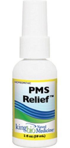 King Bio Natural Medicine Homeopathic Remedies for PMS Relief, 2 Fluid Ounce