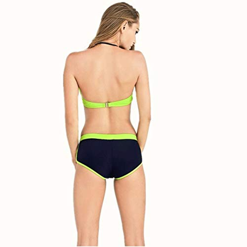 colore Sottile Da Donna Acciaio Raccoglie Bikini Due Zhrui S Dimensione Pezzi In cura 6zBxqEwP5W