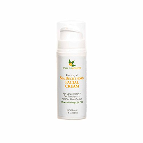 - SeabuckWonders Organic Sea Buckthorn Facial Cream, 1 Ounce
