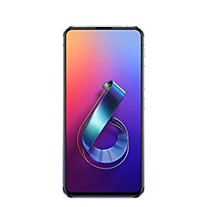 "ASUS ZenFone 6 (ZS630KL-S855-6G128G-SL) – 6.4"" FHD+ 2340×1080 All-Screen NanoEdge Display – 48MP Flip Camera – 6GB RAM – 128GB Storage – LTE Unlocked Dual SIM Cell Phone – US Warranty – Silver"