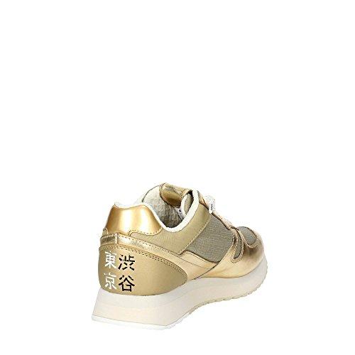 Lotto Leggenda S8908 Zapatillas De Deporte Mujer Oro