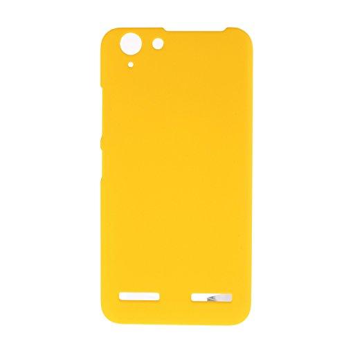 Wkae Case Cover Cubierta de la caja K5 Lenovo. Caja protectora de plástico anti-arañazos para Lenovo K5 ( Color : Red , Size : K5 ) Yellow