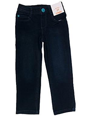 Bird Pocket Jeans, 2T, Blue