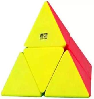 Cubelelo QiYi MoFange 2x2 Pyraminx Stickerless Rubik Rubic Rubix Speed Cube Puzzle Toy