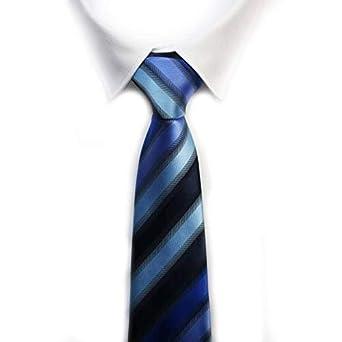 Corbata rayas anchas azulona: Amazon.es: Ropa y accesorios