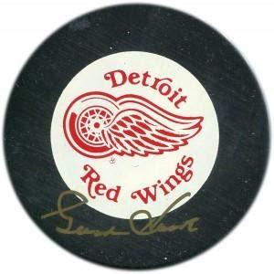 Howe Gordie Autographed Puck - Gordie Howe Signed Hockey Puck - Vintage - Autographed NHL Pucks
