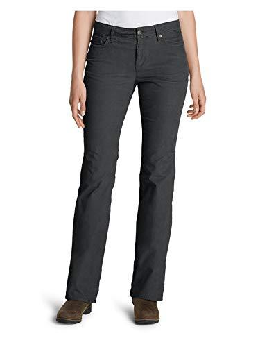 Eddie Bauer Women's Curvy Bootcut Cord Pants, Dk Smoke Plus 22W