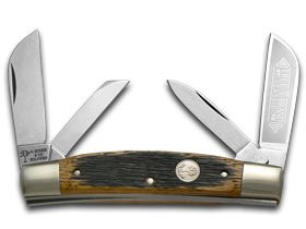 BOKER TREE BRAND Beer Barrel Wood Congress Pocket Knife Knives