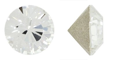 - Swarovski Elements Crystal Clear Crystal Chatons (Ss24, Approx. 5mm, Xillion Round Cut)