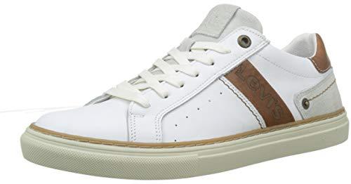 51 regular Blanco Hombre Levi's Zapatillas White Baker Para C0qnBTw