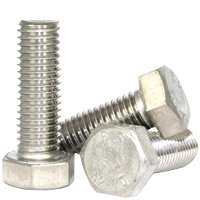 M6-1.00x20 MM DIN 933 METRIC STAINLESS A2 70 HEX HEAD BOLT/SCREW,/933 (QUANTITY: 100) Size: M6-1.00 | Length: 20mm | |