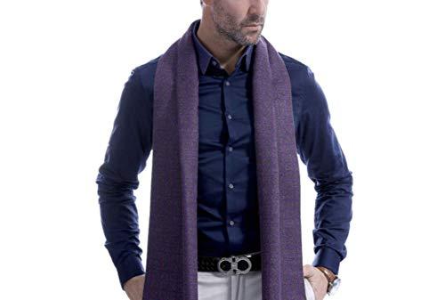 Écharpe Grille Cachemire Amdxd Style Violet Automne Hiver 180cm Changer Hommes Britannique Pour dpXwpqxU