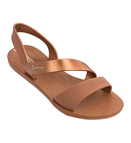 Ipanema Vibe Women's Sandals, Beige/Bronze (9 US)]()