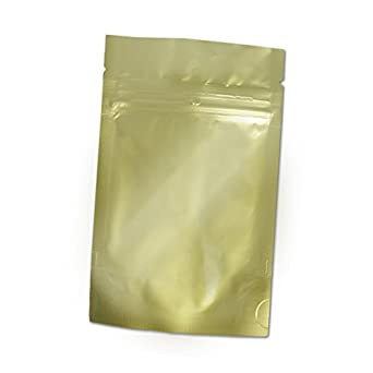 Amazon.com: heat-seal bolsas, 4,5 mil Stand Up gold-foil con ...