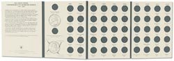 Bulk Buy: Littleton 50 State Commemorative Quarter Coin Collection Folder 1999 2008 LCF3 (3-Pack)
