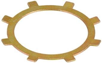 "Internal Retaining Ring, Self-Locking, SAE 1060-1090 Carbon Steel, Plain Finish, 0.500"" Bore Diameter, 0.010"" Thick (Pack of 100)"