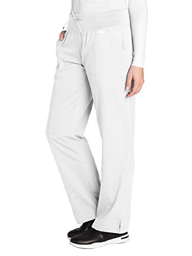 - Grey's Anatomy Active 4276 Yoga Pant White M Tall