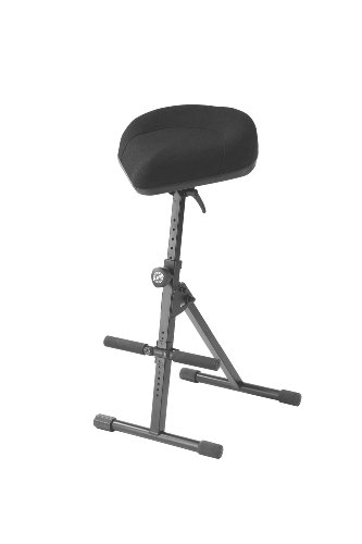 K&M Stands 14046.000.55 Pneumatic stool - black fabric by K&M Stands