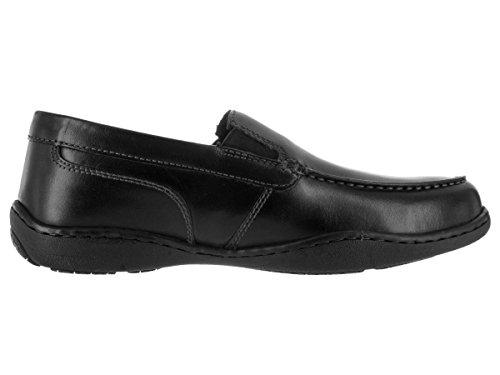 Rockport Mens Rocker Landing Ii Vénitien Slip-on Loafer- Noir