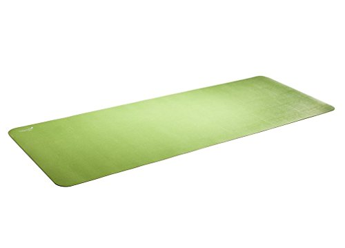 "Image of Airex Exercise Mat - Calyana Double Sided Prime - Green/Brown - 73"" x 26"" x 1/6"""