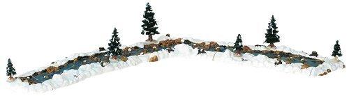 Lemax Vail Village Christmas Mill Stream 11-Piece Landscape Set #94403 by Lemax