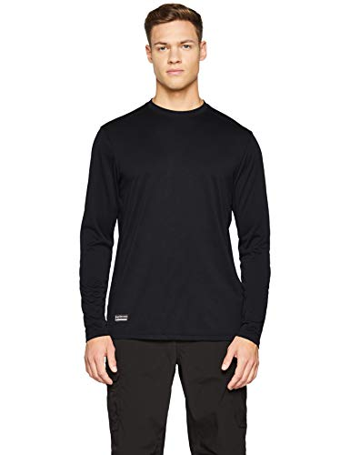 Under Armour Men's Tactical  Tech Long Sleeve T-Shirt, Black /None, ()