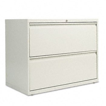 Alera 5000 Series - Alera - 5000 Series Two-Drawer Lateral File File,Lat 2Drw 36In Wd,Lgy (Pack Of 2)
