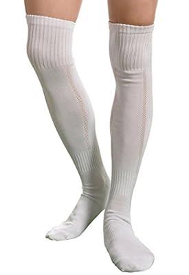 Aniwon Long High Over Knee Mens Soccer Basketball Athletic Socks Dry Fast