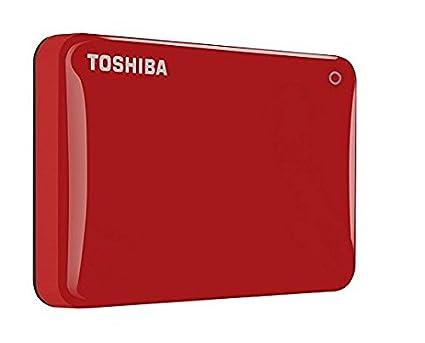 Toshiba Canvio Connect II 2 TB Mobile Festplatte (6, 4 cm (2, 5 Zoll) USB 3.0) mattgold HDTC820EC3CA