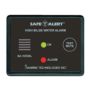 Safe T Alert High Bilge Water Alarm - Surface Mount - Black [SA-1000XL]