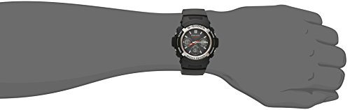 Casio Men's G-Shock AWG-M100-1ACR Tough Solar Atomic Black Resin Sport Watch by Casio (Image #1)