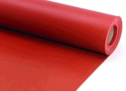 Silicon Rubber Sheet Commercial Grade 65a Red 10mm Thick X 1 2m Width X 5m Length Amazon In Industrial Scientific