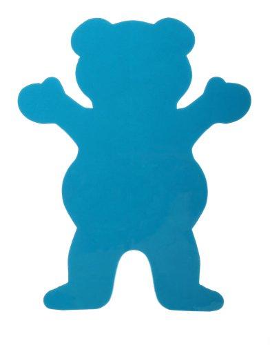 Grizzly Griptape Neon Tie Dye Bear Logo Sticker
