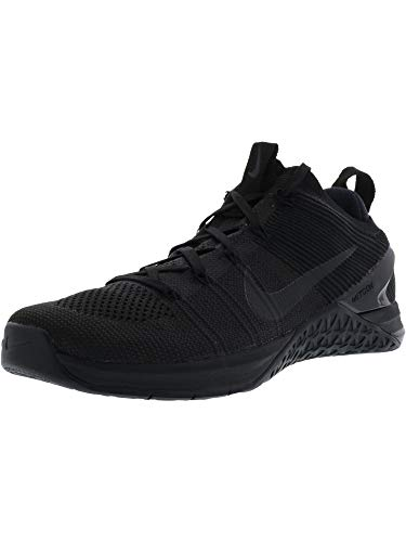 Nike Men's Metcon DSX Flyknit 2 Nylon Running Shoes (11) Black/Black/Black