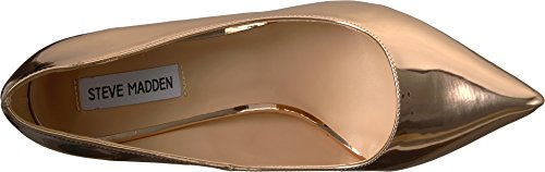 Steve Madden Womens Poet Rose Gold