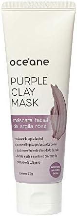 Purple Clay Mask-Máscara Facial Argila Roxa./Unica, Océane