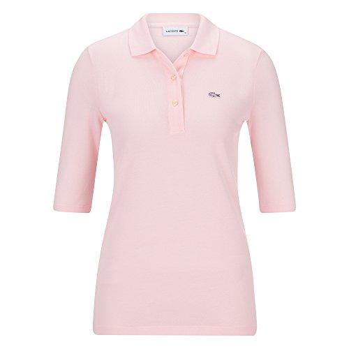 Pf5381 Sport Polo Boutons Flamingo Et Barre 3 Lacoste De Polo Coton Loisir Manches Haut Courtes t03 Femmes Régulier Pour Ajustement 46qwqd1