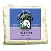 Mt. Sterling Greek Style Feta Goat Cheese 7 Oz (6 Pack) (Style Feta)