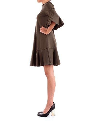 Mujer Silvian Heach Pga18688ve Verde Vestido qpvpU