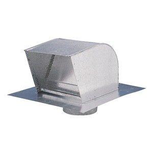 "Fantech RC6 Roof Caps, 6"" Duct (Galvanized Steel)"