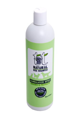 Tea Tree Sandalwood Spice Dog Shampoo (16 oz), My Pet Supplies