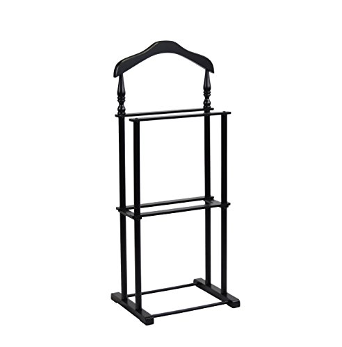Proman Products VL17025 Twin Valet, 42.5'' Height, Black by Proman Products (Image #5)