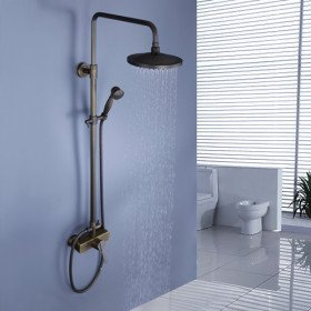 shower head that attaches to faucet. detroit bathware 8\u0026quot; shower head wall mounted bathroom with handheld rainfall faucet set , that attaches to