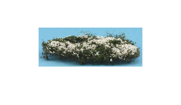 Dollhouse Miniature Creeping White Phlox in White by Creative Accents