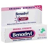 Benadryl - Itch Relief - 2% / 0.1% Original Strength Cream - 24/Case - 1 oz. Tube - McK