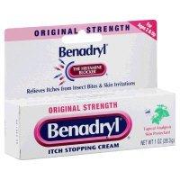 Benadryl - Itch Relief - 2% / 0.1% Original Strength Cream - 24/Case - 1 oz. Tube - McK by Benadryl
