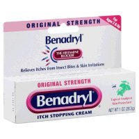Benadryl - Itch Relief - 2% / 0.1% Original Strength Cream - 24/Case - 1 oz. Tube - McK by Benadryl