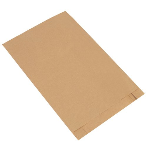 Aviditi BGM107K Gusseted Merchandise Bags, 12'' x 3'' x 18'', Kraft (Pack of 1000) by Aviditi (Image #1)