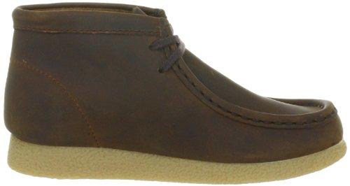 Clarks WallabeeBt Boy 203497387 Jungen Sneaker Braun (Brown Waxy)